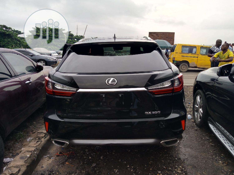 Archive: Lexus RX 2017 Black