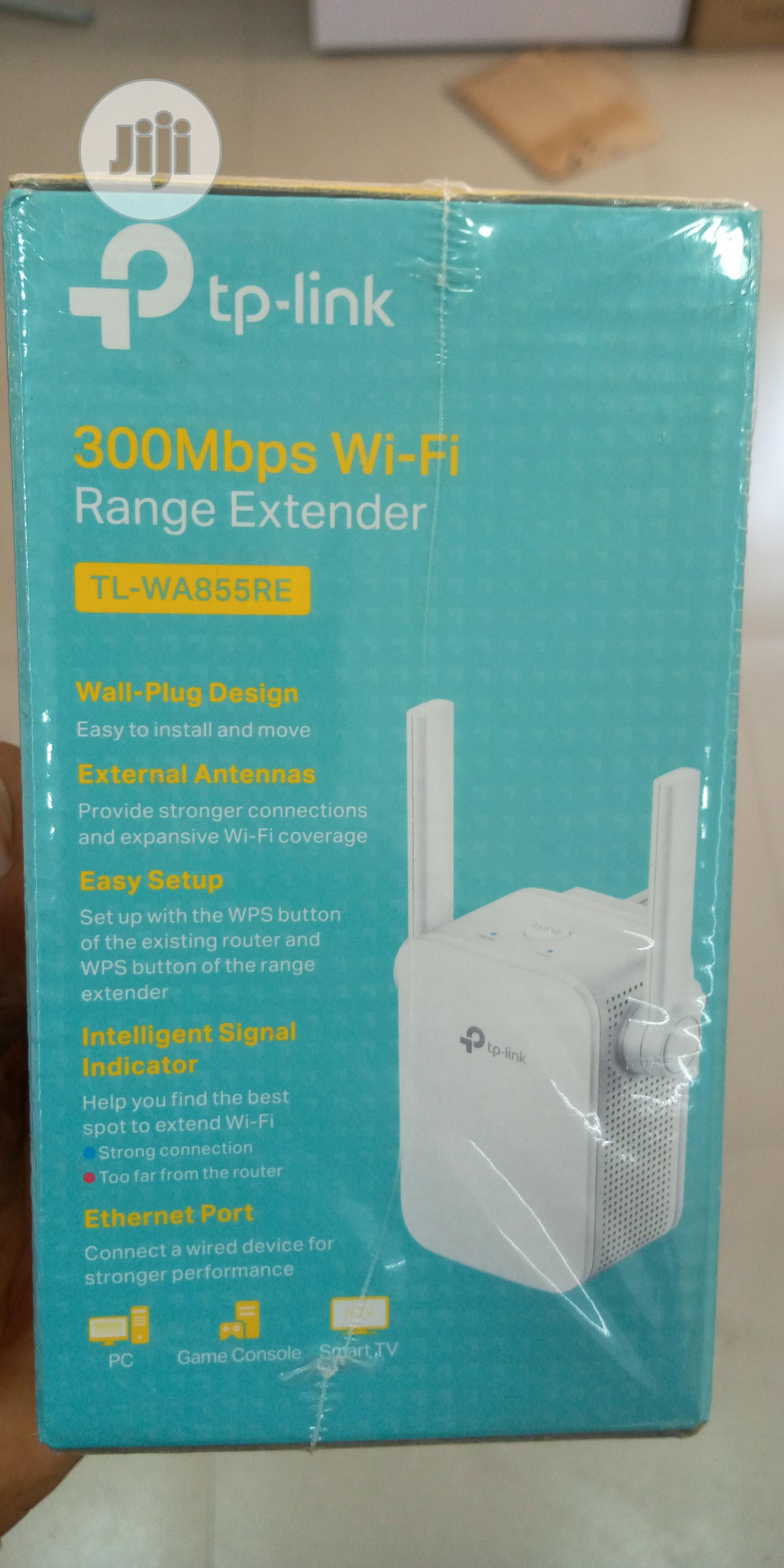 Tp-link 300mbps Universal Wifi Range Extender   Networking Products for sale in Ikeja, Lagos State, Nigeria