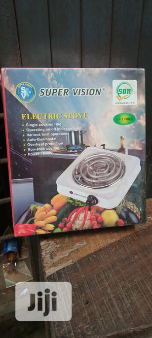 Super Vision Electric Stove Sv 1000A Sm   Kitchen Appliances for sale in Lagos State, Magodo