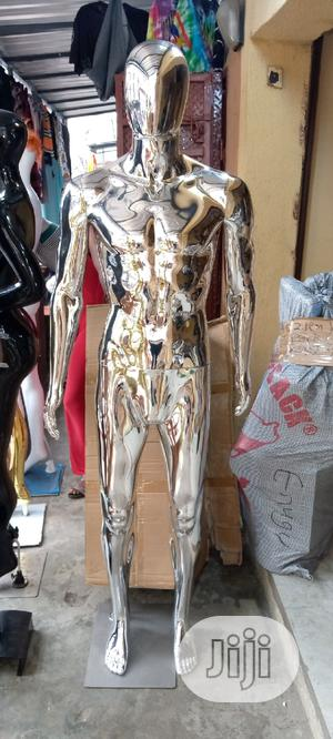 Male Silver Chrome Male Mannequin   Store Equipment for sale in Lagos State, Lagos Island (Eko)