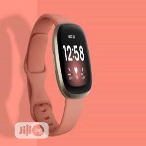 Fitbit Versa 3 Smart Watch   Smart Watches & Trackers for sale in Lagos State, Ikeja