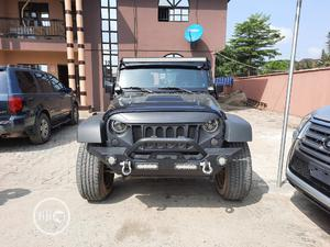 Jeep Wrangler 2013 Unlimited Sahara Black   Cars for sale in Lagos State, Amuwo-Odofin