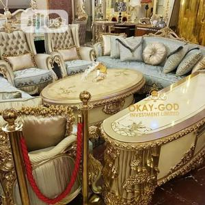 Unique, Complete Set Of Turkey Royal Sofa And Dining Set | Furniture for sale in Abuja (FCT) State, Central Business District