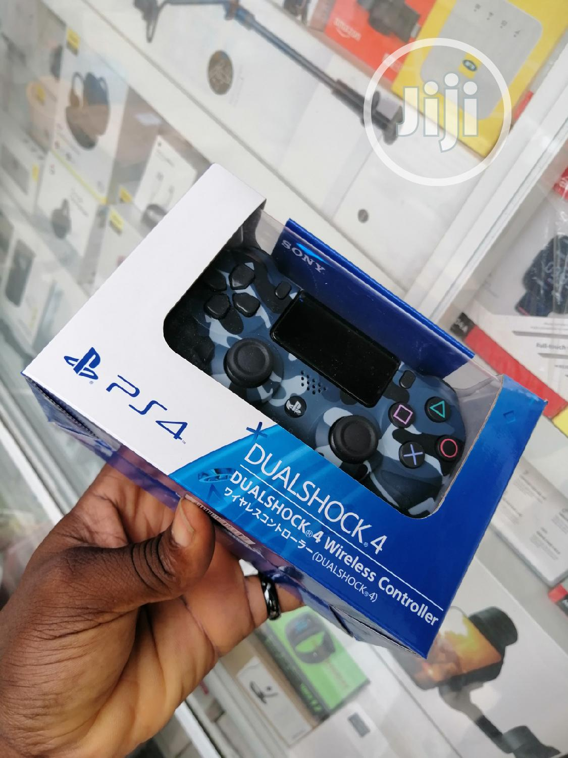 Ps4 Controller Blue Camou
