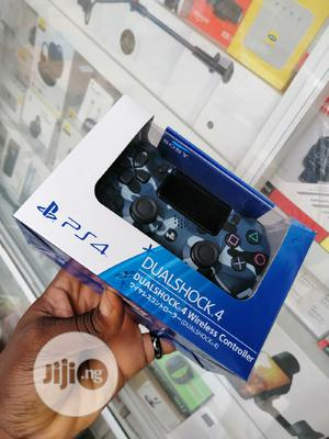 Ps4 Controller Blue Camou   Video Game Consoles for sale in Lagos State, Ikeja