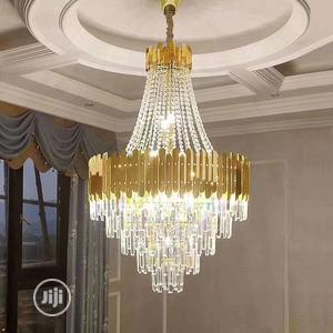Modern Crystal Chandelier Gold   Home Accessories for sale in Lagos State, Ikoyi