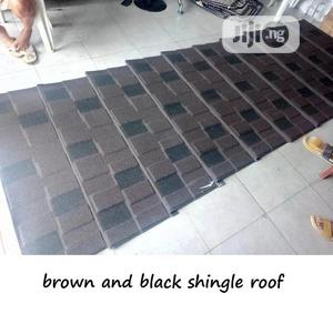 Brown And Black Docherich Stone Coated Roof   Building Materials for sale in Lagos State, Ajah