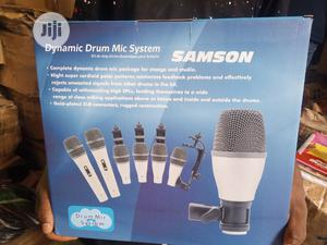 Samson Drum Microphone 5set N Also 7set Availabe | Musical Instruments & Gear for sale in Lagos State, Ojo