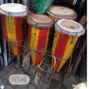 3 in 1 Local Conga(Igba) Wood N Iron Body Available   Musical Instruments & Gear for sale in Lagos State, Ojo