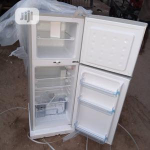 Brand New SKYRUN Double Door Fridge, Silver Color, External | Kitchen Appliances for sale in Lagos State, Ojo