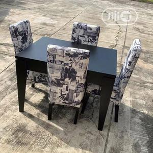 Quality Dining Chair By 4 With Table | Furniture for sale in Lagos State, Ojo