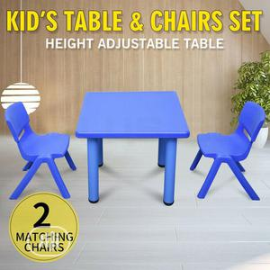 Children's Plastic Garden Or Inside Table And Chairs Set   Children's Furniture for sale in Lagos State, Lagos Island (Eko)