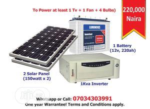 1kva Inverter and Solar Full Installation   Solar Energy for sale in Lagos State, Ikeja