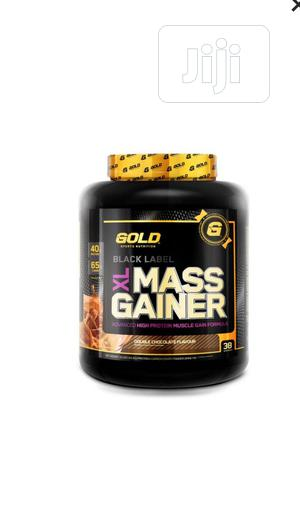 MASS GAINER (Double Chocolate 4.5kg / 10lb   Vitamins & Supplements for sale in Lagos State, Surulere