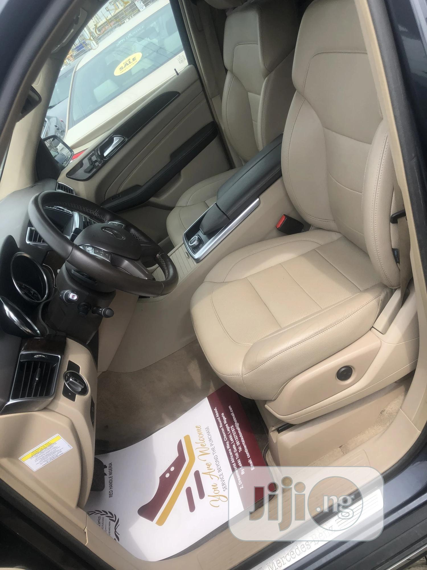 Mercedes-Benz M Class 2013 Gray | Cars for sale in Lekki, Lagos State, Nigeria