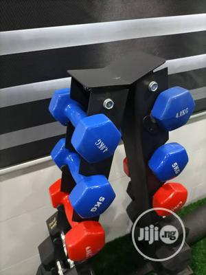 Brand New Aerobic Dumbbell Available | Sports Equipment for sale in Rivers State, Port-Harcourt
