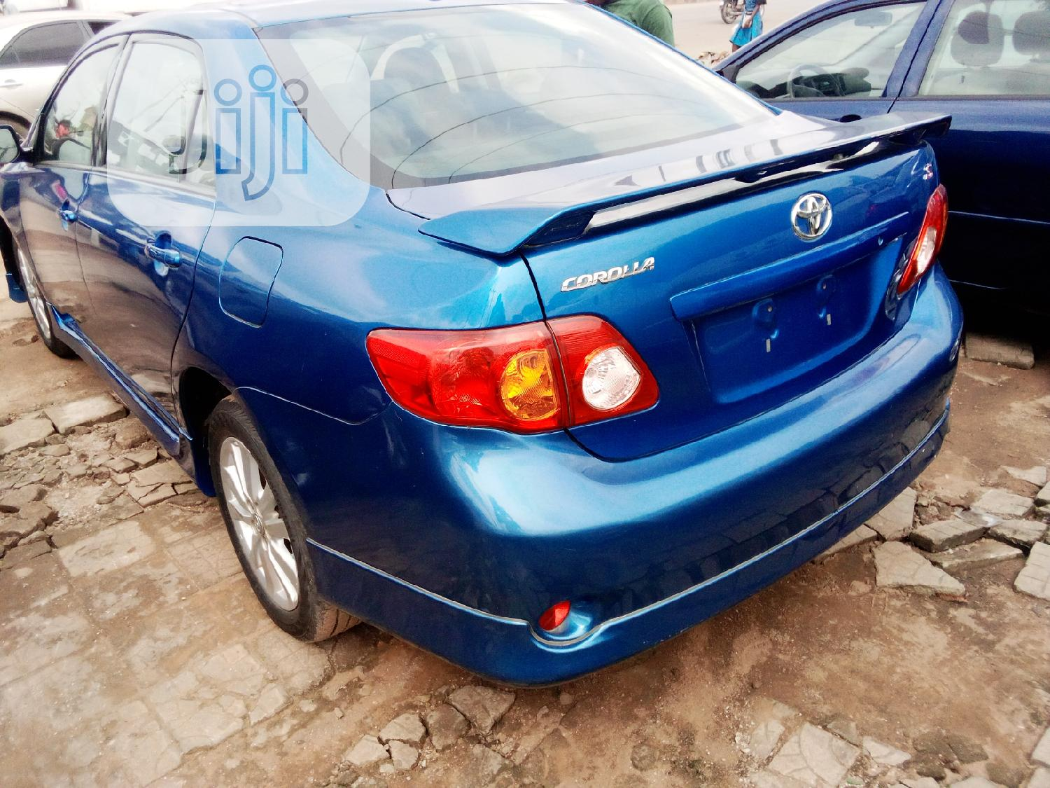 Toyota Corolla 2010 Blue | Cars for sale in Isolo, Lagos State, Nigeria