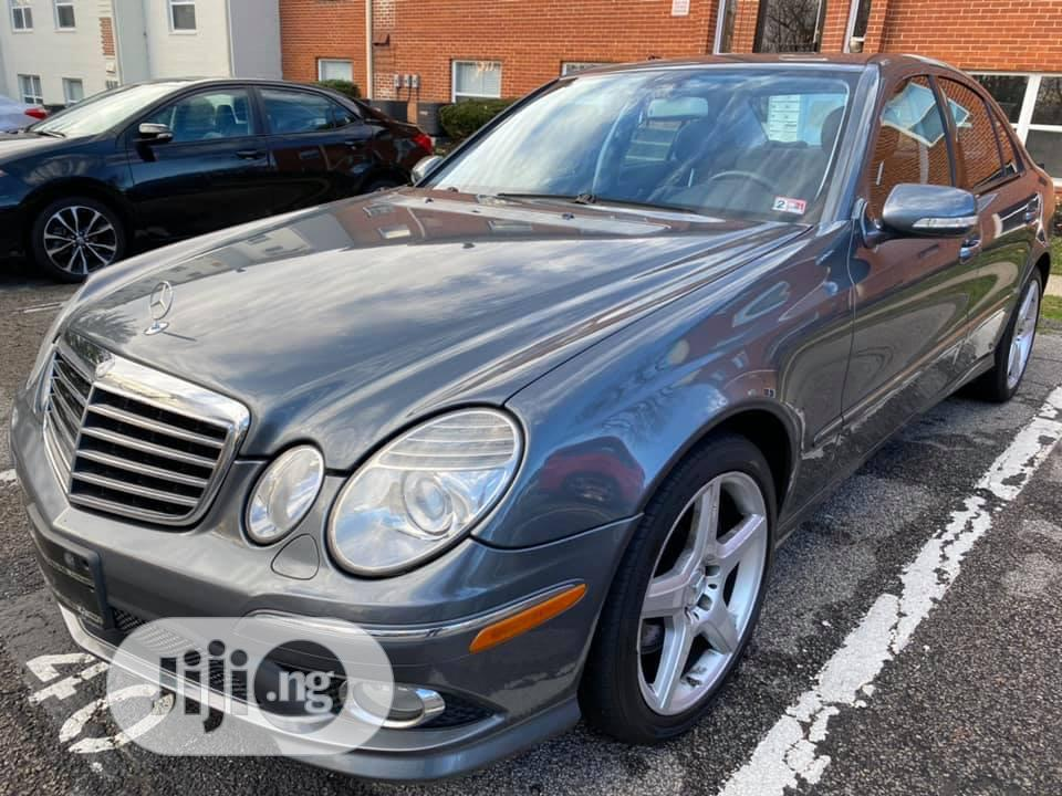 Mercedes-Benz E350 2009 Gray   Cars for sale in Ajah, Lagos State, Nigeria