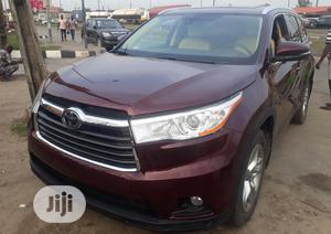Toyota Highlander 2016 Red   Cars for sale in Lagos State, Surulere