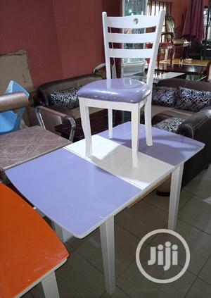 Super Quality Adjustable Wooden Dinning Table With 4 Chairs | Furniture for sale in Lagos State, Ojo