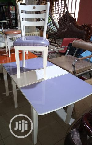 Super Quality Set of Adjustable Dinning Table With 4 Chairs | Furniture for sale in Lagos State, Ikoyi