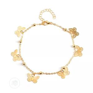 Butterfly Gold Plated Anklet For Women | Jewelry for sale in Lagos State, Lekki