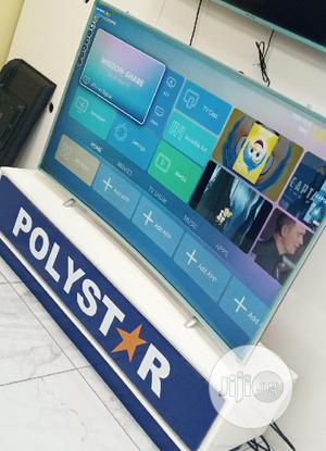 """2020>Made Polystar Curved 65"""" Uhd Smart 4K TV (Netflix) 