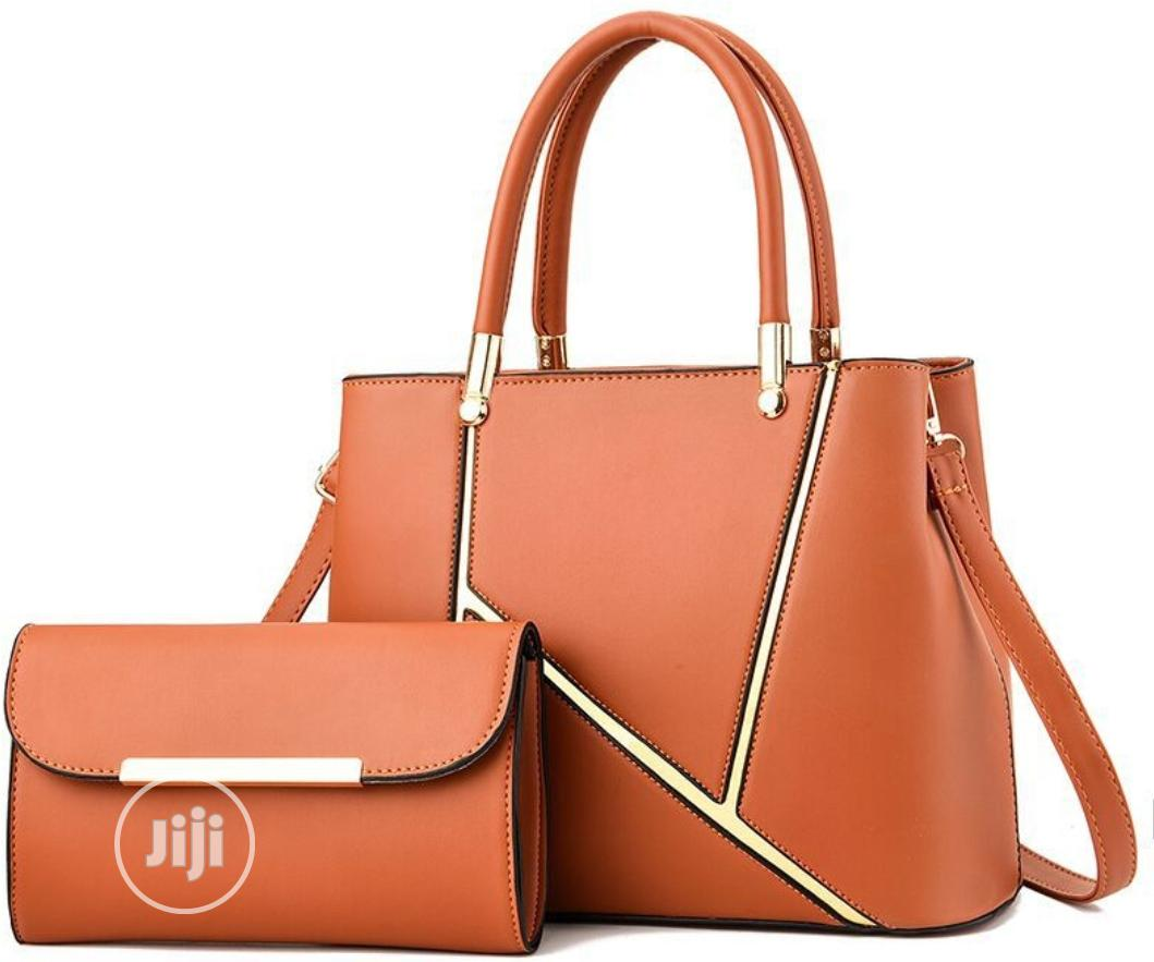 Archive: 2 in 1 Ladies Unique and Pure Leather Hand Bag