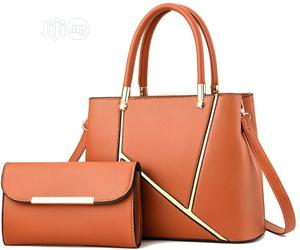 2 in 1 Ladies Unique and Pure Leather Hand Bag | Bags for sale in Abuja (FCT) State, Wuse 2