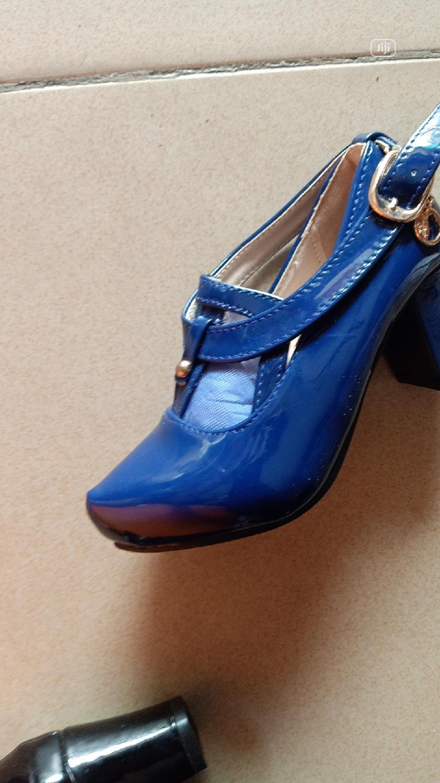 Blue Dress Shoe for Girls