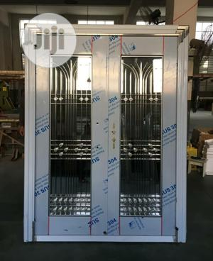 Double Stainless Glass Doors Available | Doors for sale in Lagos State, Orile