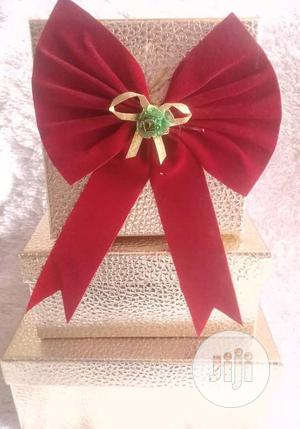 Christmas Gold Gift Box 1 for Hamper | Arts & Crafts for sale in Lagos State, Surulere