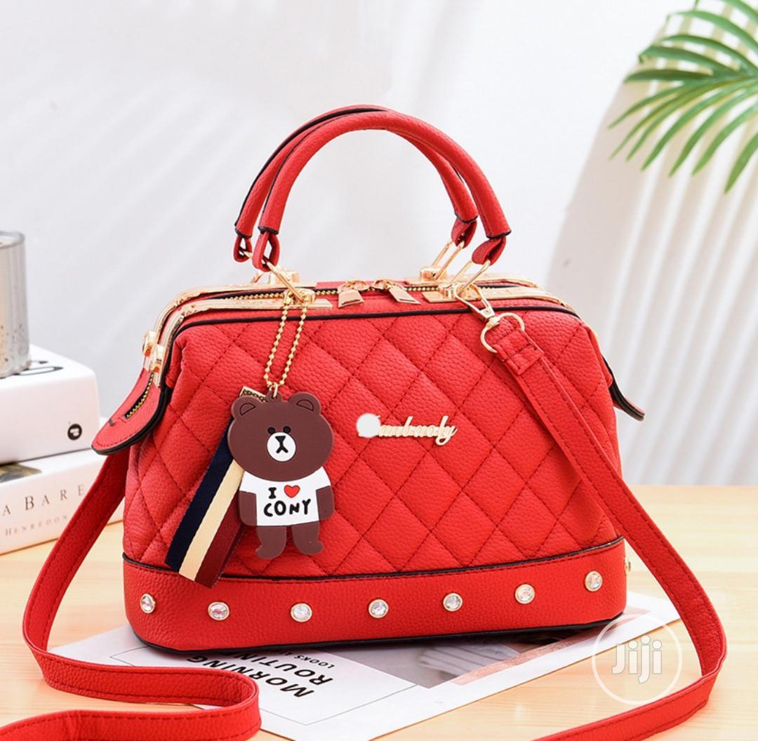 Red Ladies Quality Handbag