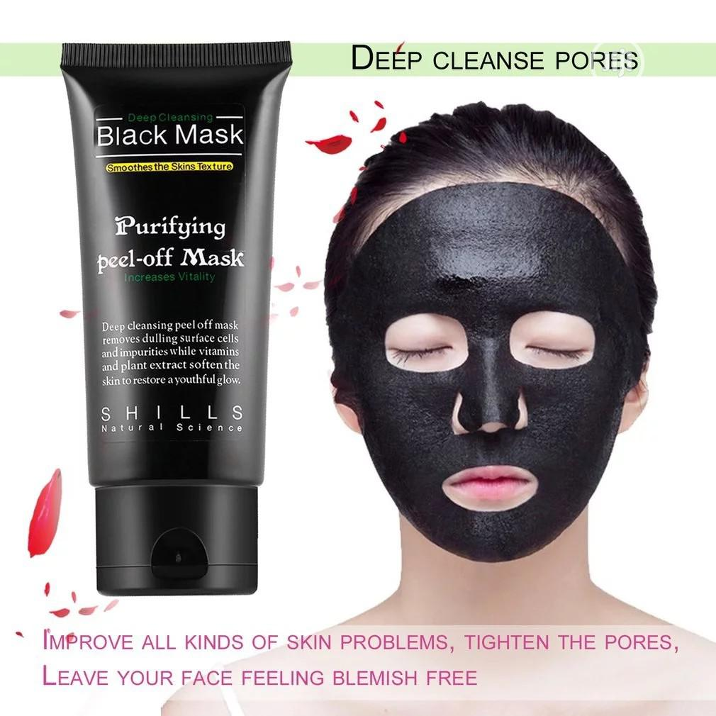Black Mask Activated Charcoal Facial Mask