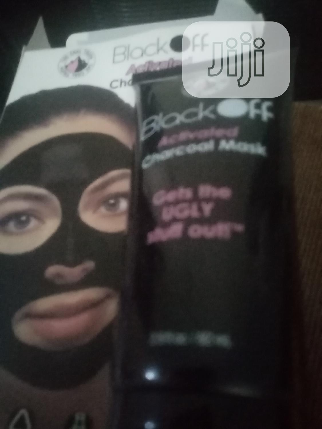 Black Mask Activated Charcoal Facial Mask | Skin Care for sale in Dei-Dei, Abuja (FCT) State, Nigeria