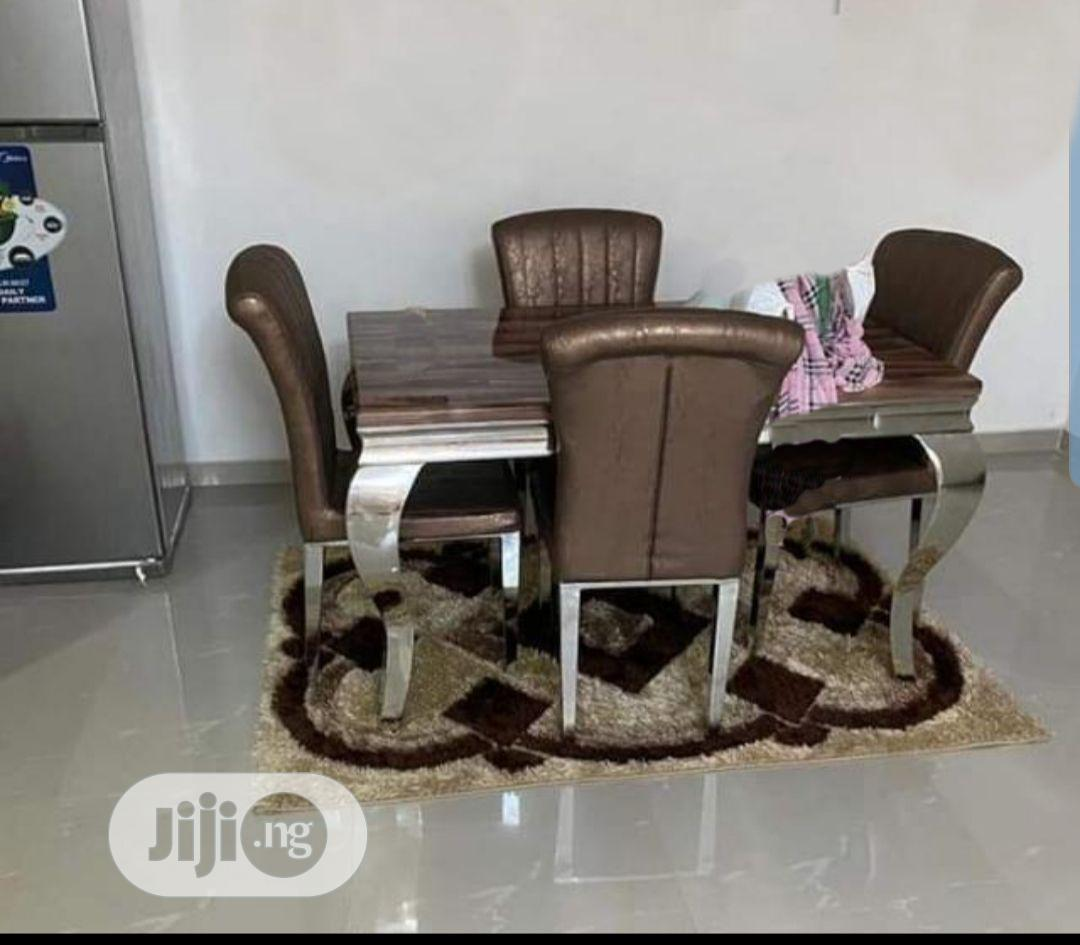 Archive: Good Quality Marble Dinning Table With 4 Chairs