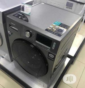 >Inverter Hisense(WM1014V) 10KG Wash 7KG Dry Full Automatic | Home Appliances for sale in Lagos State, Ojo