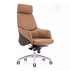 Ergonomic Office Chair - Brown | Furniture for sale in Lagos State, Victoria Island