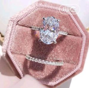 Silver Diamond Wedding Ring | Wedding Wear & Accessories for sale in Lagos State, Surulere