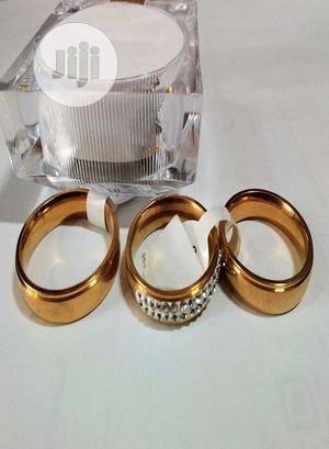 18k Gold Plated Steel Wedding Ring | Wedding Wear & Accessories for sale in Lagos State, Lekki