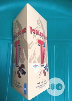 Toblerone White Milk Dark Chocolate | Meals & Drinks for sale in Lagos State, Surulere