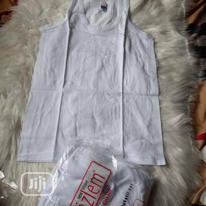 Brand New Pure Cotton Boys Singlet   Children's Clothing for sale in Lagos State, Ikeja
