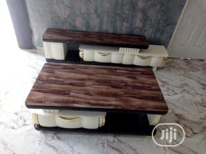 Imported Adjustable Tv Stand With Center Table | Furniture for sale in Lagos State, Ojo