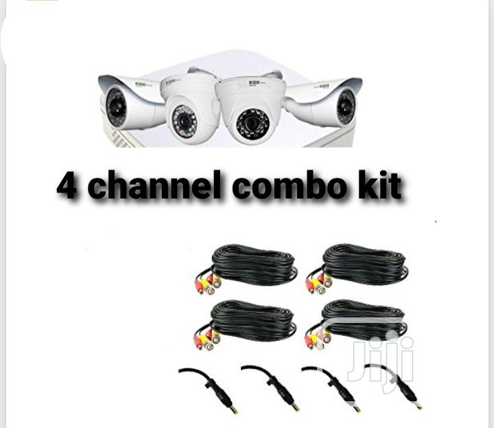 2mp Combo Kit 4 Channel