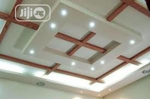 POP Ceiling Work, Suspended Ceilings, 3D Wallpapers, Screedi   Building & Trades Services for sale in Lagos State, Ipaja