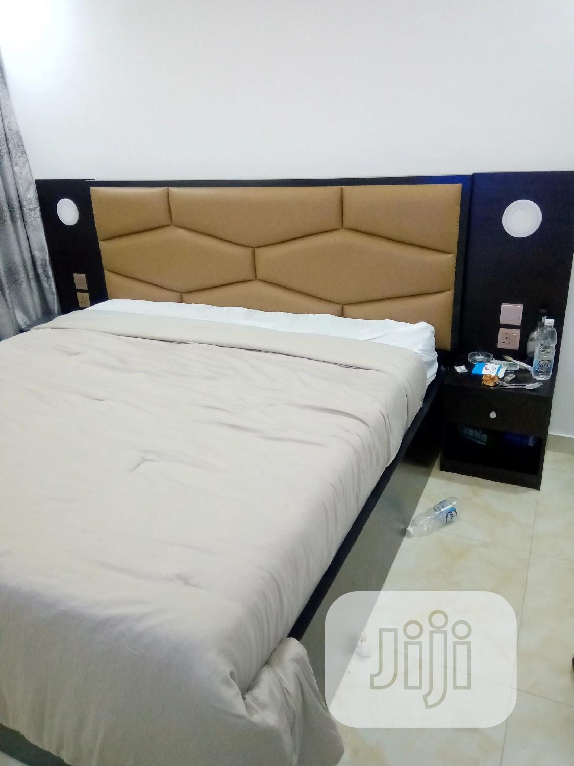Archive: Upholstery Board Bedframe With Light And Changer Soket