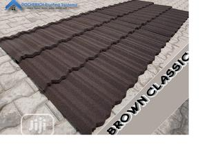 Docherich Brown Classic Stone Coated Roofing Sheet for Sale | Building Materials for sale in Lagos State, Ajah