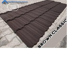 Brown Classic Stone Coated Roofing Sheet   Building Materials for sale in Lagos State, Ajah