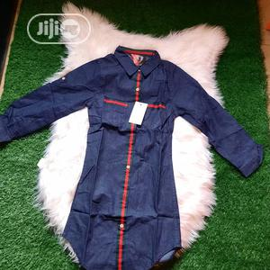 Gucci Girls Jeans Dress Top   Children's Clothing for sale in Lagos State, Ikeja