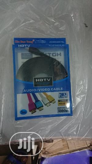 5mtr Hdmi Flat Cable   Audio & Music Equipment for sale in Lagos State, Ikeja